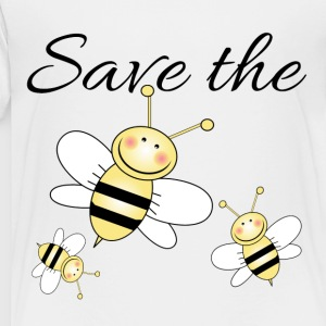 Save The Bees Kids' Shirts - Toddler Premium T-Shirt