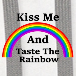 Coffee/Tea Mug   Kiss & Taste the Rainbow - Contrast Hoodie