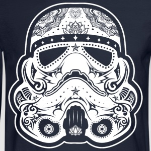 Storm Trooper Sugar Skull T-Shirts - Men's Long Sleeve T-Shirt
