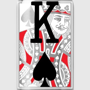 Kings of Spades Playing Card Long Sleeve Shirts - Water Bottle