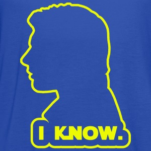 Han Solo - I Know. Design T-Shirts - Women's Flowy Tank Top by Bella