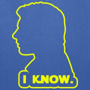 Han Solo - I Know. Design T-Shirts - Tote Bag
