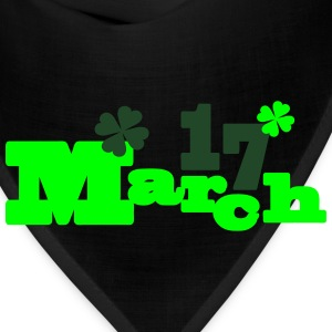 March 17 st.Patrick's day Men's Ringer T-Shirt - Bandana