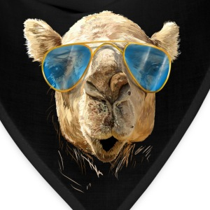 Camel with sunglasses T-Shirts - Bandana