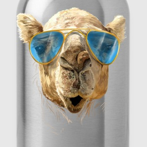Camel with sunglasses T-Shirts - Water Bottle