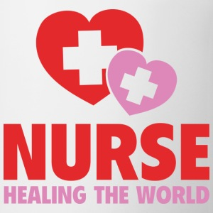 Nurse Healing The World - Coffee/Tea Mug