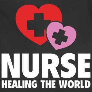 Nurse Healing The World - Adjustable Apron