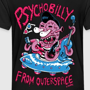 psychobilly from outerspace Sweatshirts - Toddler Premium T-Shirt