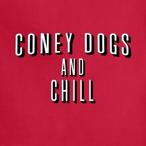 Coney Dogs and Chill T-Shirts - Adjustable Apron