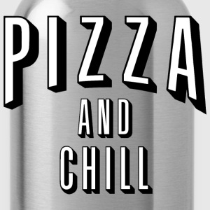 pizza and chill - Water Bottle