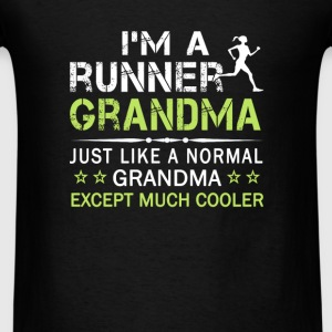 RUNNER GRANDMA - Men's T-Shirt