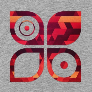 Abstract Minimal Geometrie Hipster Kunst (Rot Gold Sweatshirts - Toddler Premium T-Shirt