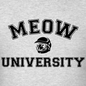 MEOW UNIVERSITY HOODIE - Men's T-Shirt