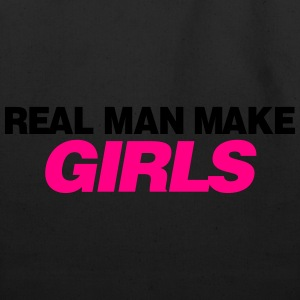REAL MAN MAKE GIRLS - Eco-Friendly Cotton Tote