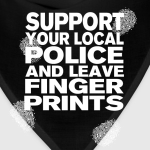 Support your Police Finge T-Shirts - Bandana