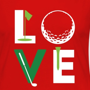 Golfer Love Golf T Shirt T-Shirts - Women's Premium Long Sleeve T-Shirt
