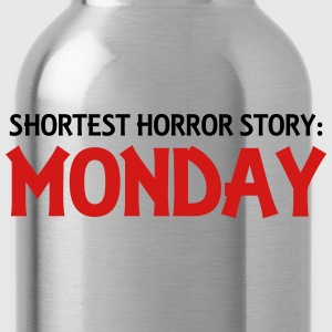 Shortest Horror Story: Monday Women's T-Shirts - Water Bottle
