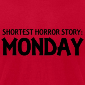 Shortest Horror Story: Monday Tanks - Men's T-Shirt by American Apparel