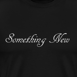 somethingnewwhite Bags & backpacks - Men's Premium T-Shirt