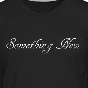 somethingnewwhite Bags & backpacks - Men's Premium Long Sleeve T-Shirt