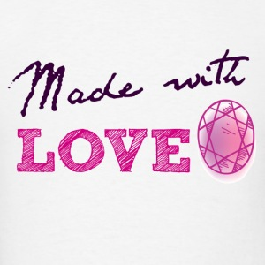 Made with love - Men's T-Shirt