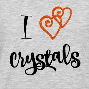 I Love Crystals - Men's Premium Long Sleeve T-Shirt