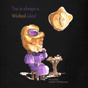 Tea Time Wicked Witch Tote bag - Men's T-Shirt