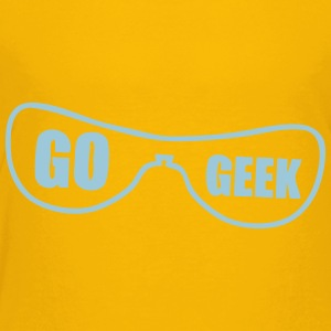 go geek glasses Kids' Shirts - Toddler Premium T-Shirt