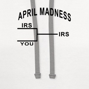 april_madness_tshirt - Contrast Hoodie