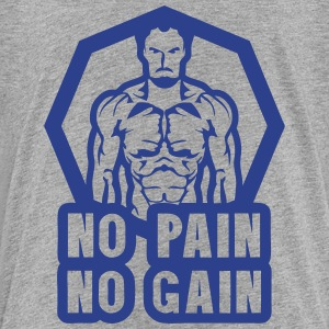 no pain no gain bodybuilding 0 Kids' Shirts - Toddler Premium T-Shirt