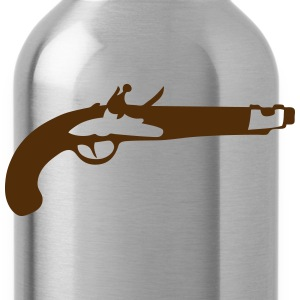 old pistol old revolver 306 Long Sleeve Shirts - Water Bottle