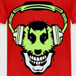 meerkat mouth audio music headphones 2 Kids' Shirts - Toddler Premium T-Shirt