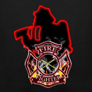 Firefighters are first in and last out - Men's Premium Tank