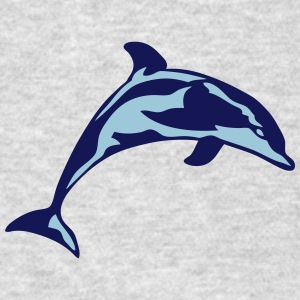 dolphin marine animal 30622 Sportswear - Men's T-Shirt