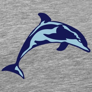 dolphin marine animal 30622 Sportswear - Men's Premium T-Shirt