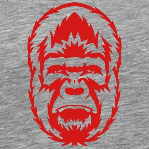 gorilla wild animal 306 Sportswear - Men's Premium T-Shirt