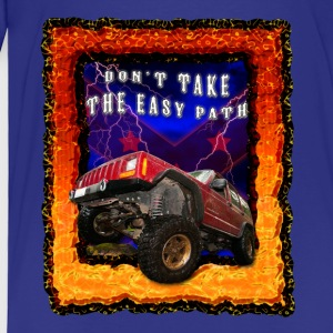4x4 don't take the easy path - Toddler Premium T-Shirt