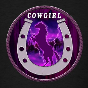 Wild horses and cowgirls - Men's T-Shirt