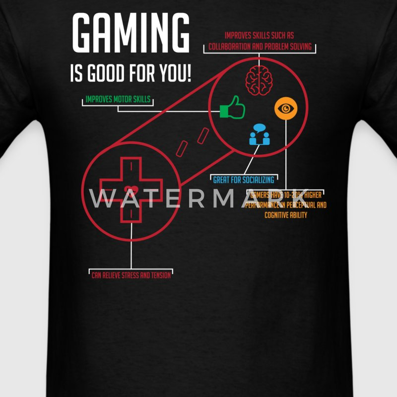 Gaming is Good for You - Men's T-Shirt