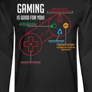 Gaming is Good for You - Men's Long Sleeve T-Shirt