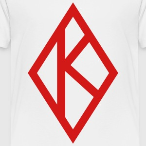 NUPE Kappa Diamond Baseball Shirt - Toddler Premium T-Shirt