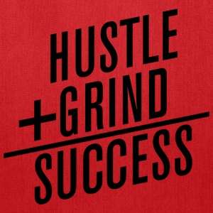 HUSTLE+GRIND=SUCCESS T-Shirts - Tote Bag