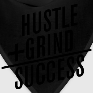 HUSTLE+GRIND=SUCCESS T-Shirts - Bandana