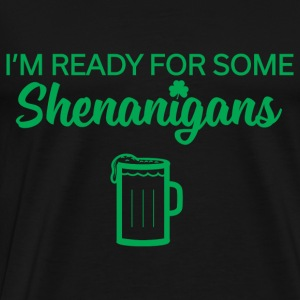 Shenanigans Final Officia Hoodies - Men's Premium T-Shirt
