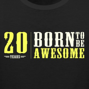 20 years 20th birthday T-Shirts - Men's Premium Tank