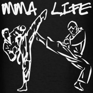 MMA Life 2 Mixed Martial Arts  - Men's T-Shirt