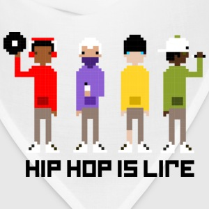 HIP HOP IS LIFE - Bandana