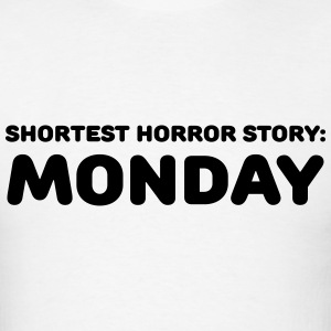Shortest Horror Story: Monday Long Sleeve Shirts - Men's T-Shirt