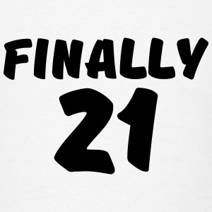 Finally 21 Long Sleeve Shirts - Men's T-Shirt
