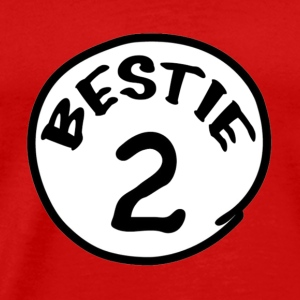 Thing 1,Dr sues,Bestie - Men's Premium T-Shirt